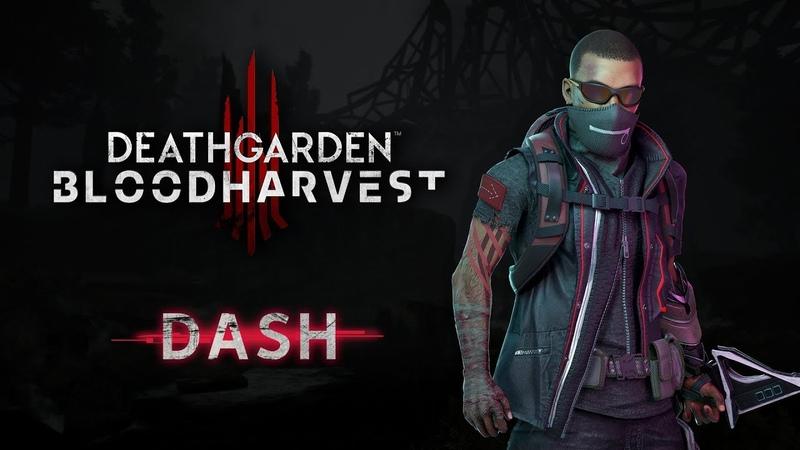 Deathgarden BLOODHARVEST Character Vignette Dash