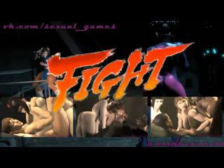 Ultimate tournament - ep. 1 chun li vs juri han (uncut ver.) (2017) (street fighter sex)