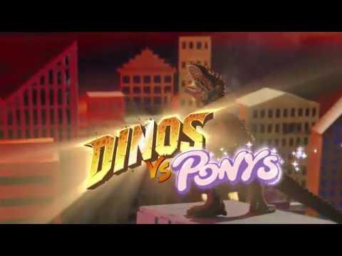 DINOS vs. PONYS! Original Schleich Figuren ab 5.9. im Happy Meal!