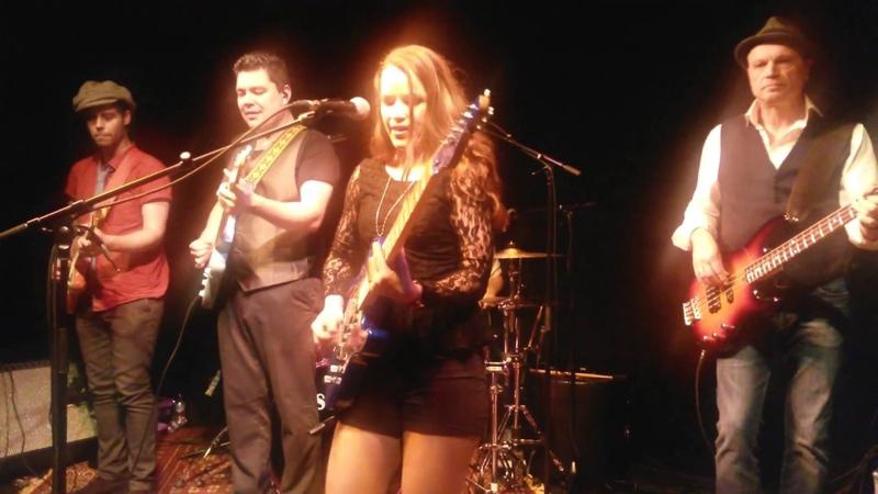 Erja Lyytinen Dust my Broom Oct 2015 @ EBC Edinburgh Blues Club, Voodoo Rooms