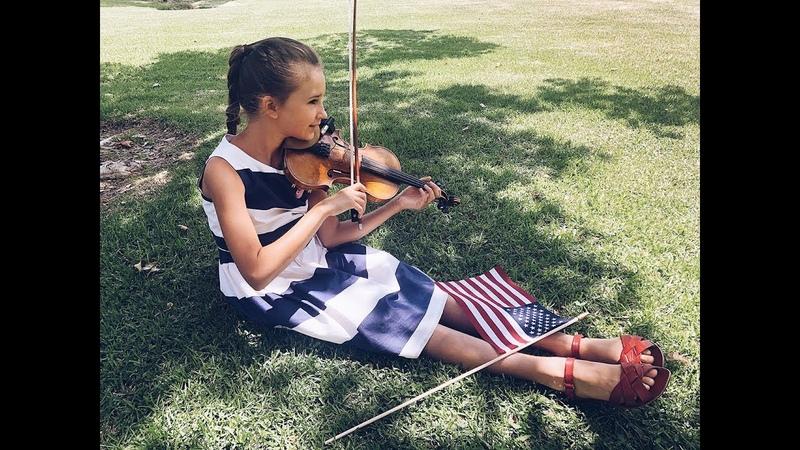Usa National Anthem - Karolina Protsenko | 4th of July - Independence Day