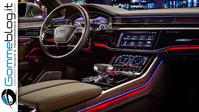 2019 Audi A8 INTERIOR TECH FEATURES