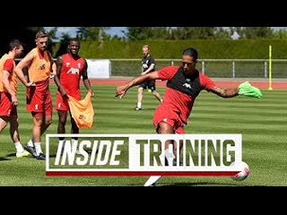 Inside training: behind-the-scenes from liverpools shooting practice in evian