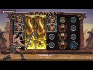 Conan (netent) online slot