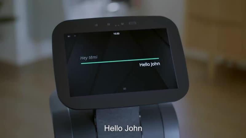 Temi персональный робот помощник у вас в доме