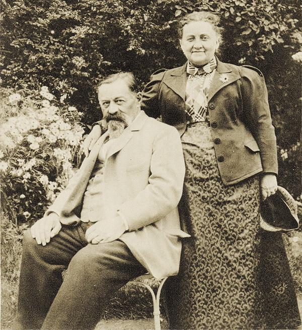 Генрих Афанасьевич и Шарлотта Андреевна Брокар.