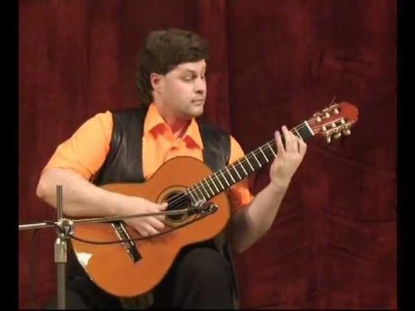 Sergey Gavrilov guitar plays Argentine tango El Choclo by Angel Villoldo