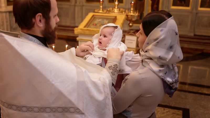 Крещение Анечки