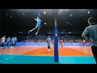 Facundo conte. crazy vertical jump. spike 360 cm (hd)