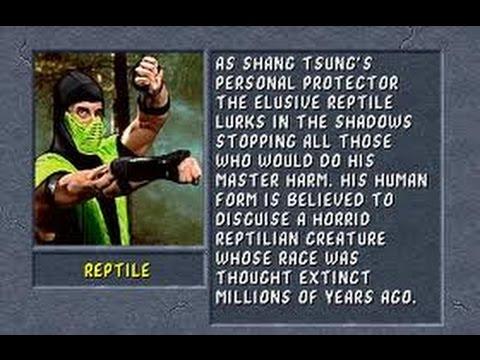 Mortal Kombat II Arcade Reptile Gameplay on Very Hard no Continues