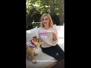 Reese witherspoon shares her christmas favorites during