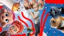 Детские мультики, песенки все в одном ролике. 3 часть Маша челендж.