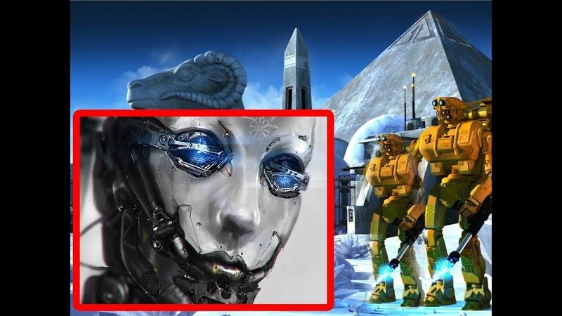 Сенсация! В тоннелях Под Сфинксом, обнаружены роботы! Чем-же на самом деле являются пирамиды?