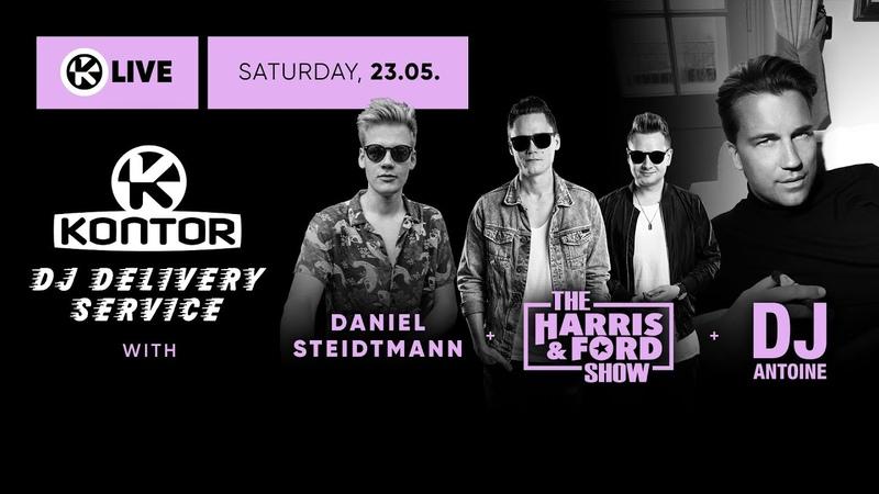 Daniel Steidtmann DJ Antoine Harris Ford Kontor DJ Delivery Service 💜