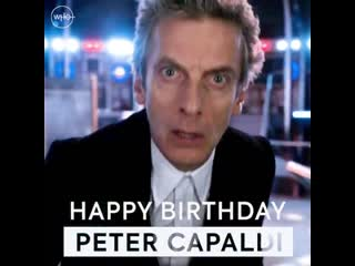 Happy birthday to the Twelfth Doctor!