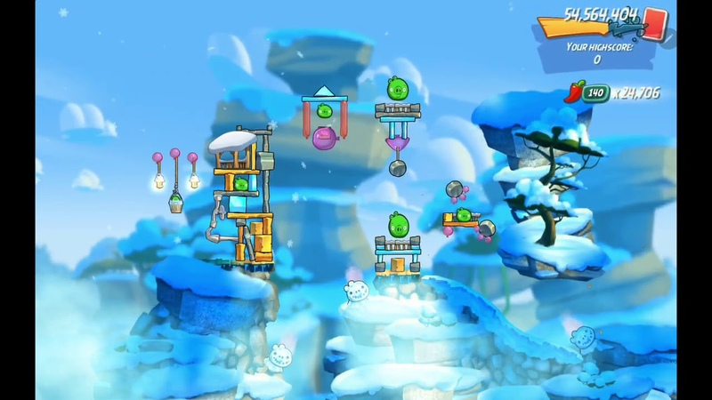 Angry Birds 2 AB2 Clan Battle (CVC) - 20200813 Complete 15 rooms (Bubbles)