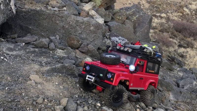 The Most Extreme MN-D90 Land Rover