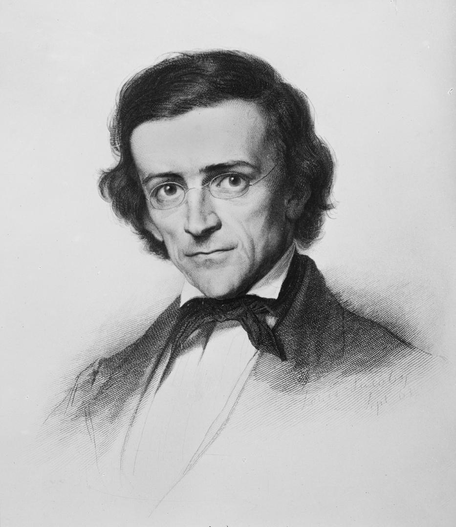 Теодор Моммзен — один из крупнейших специалистов по истории классической древности, автор монументальной «Римской истории» (портрет работы Л. Якоби, 1863).