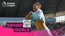 Fabulous Manchester City Goals Aguero De Bruyne Sterling Squad Goals