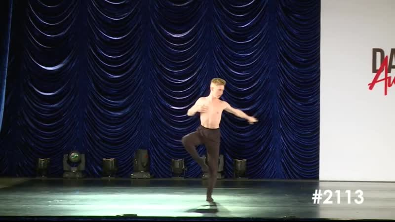 Findlay McConnell Curtain Call The Dance Awards 2019