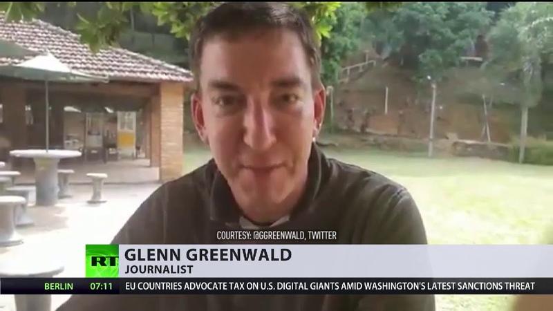 """Brasilien: Klage gegen Greenwald ist """"offene Vergeltung"""""""