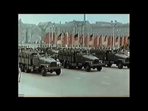 Paraden der NVA Nationale Volksarmee von 1956 bis 1979