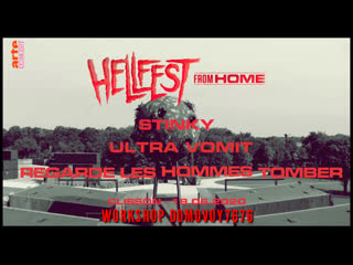 STINKY/ULTRA VOMIT/REGARDE LES HOMMES TOMBER - LIVE  - Hellfest From Home