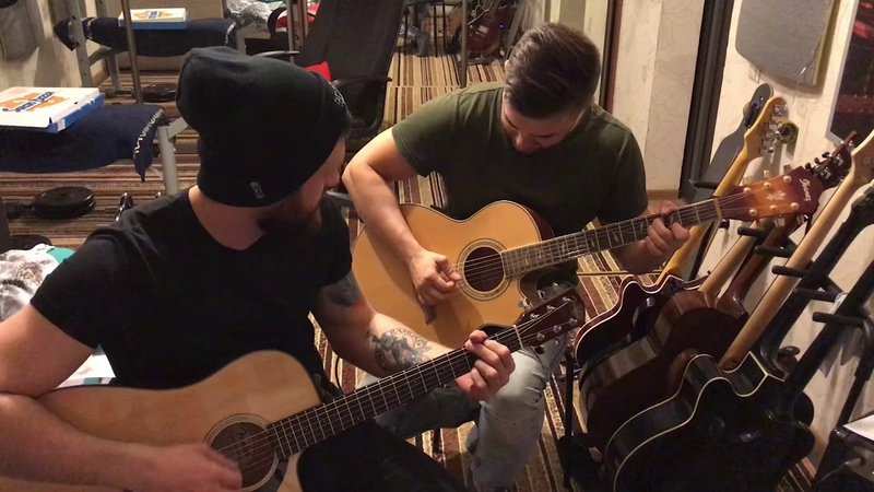 Daughtry Home acoustic cover with Oleg Kalinkin