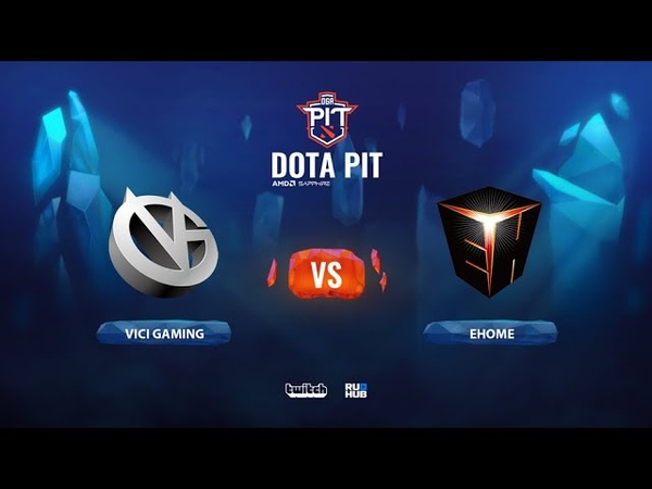 Vici Gaming vs EHOME OGA Dota PIT Season 2 China bo3 game 1 Mortalles Lost
