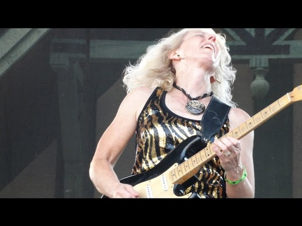 LAURIE MORVAN BAND Little Wing 26th Budweiser Illinois Blues Fest Peoria