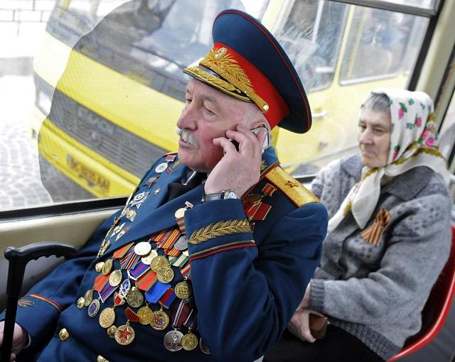 Бесплатный проезд для ветеранов Великой Отечественной войны