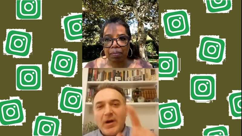 Oprah Winfrey _ April 22, 2020