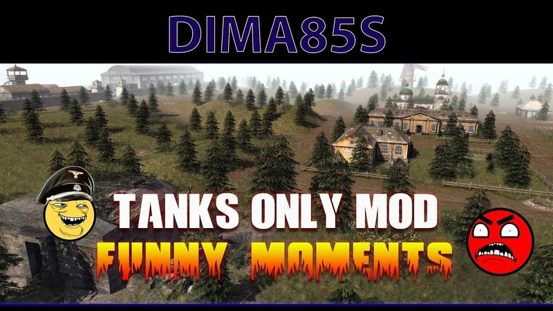 Men of War A S 2 Tanks Only Mod Funny moments