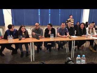 Встреча главы региона Андрея Чибиса с молодежью Ковдорского района