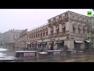 Самоизоляция в Москве: как выглядит центр столицы после введения ограничений из-за коронавируса | день четвёртый