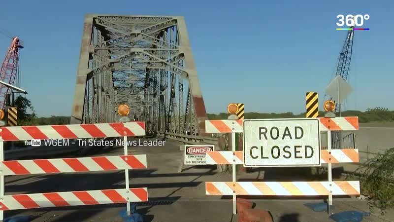 В США взорвали мост между двумя штатами. Видео
