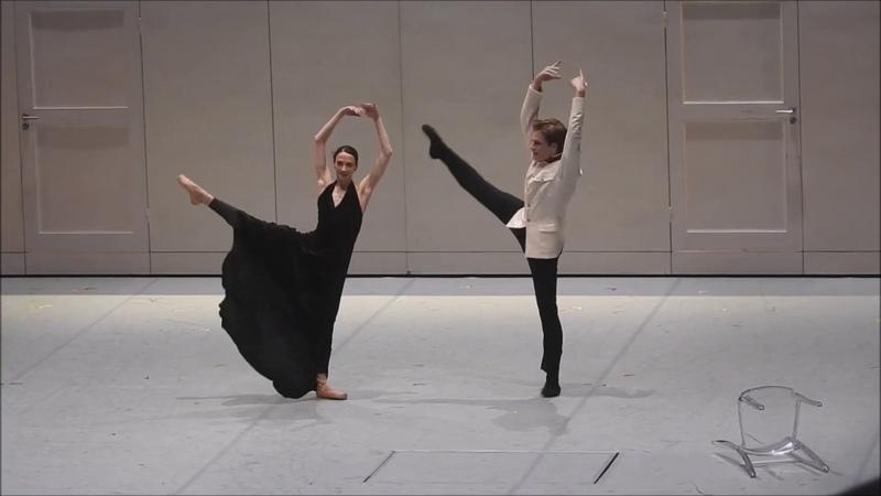 Отрывки из балета Анна Каренина Джона Ноймайера со Светланой Лунькиной