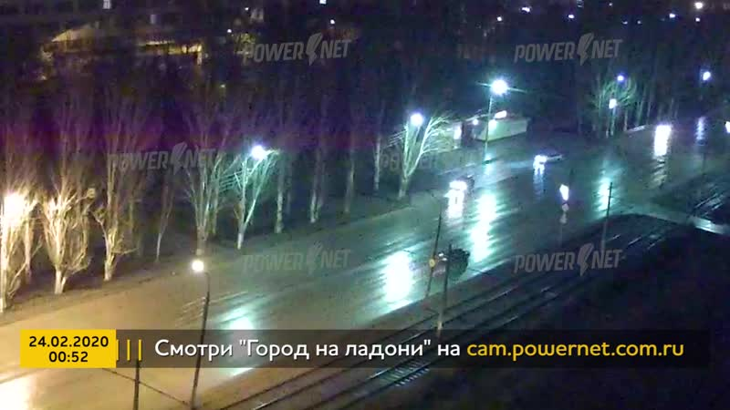 ДТП авария г Волжский пр Ленина ул Мечникова 24 02 2020 00 52