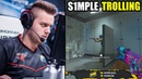 S1MPLE TROLLING PLAYERS ON FPL !! NiKo REACTS W0XIC PICKS XANTARES !! CSGO BEST MOMENTS