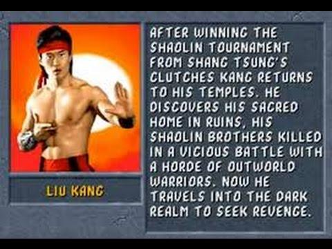Mortal Kombat II Arcade Liu Kang Gameplay on Very Hard no Continues