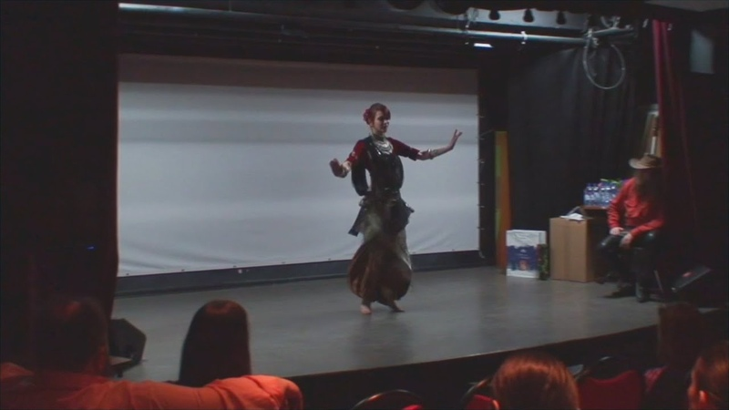 Alya tribal fusion choreo by Milana @ Jubileum Party 2020