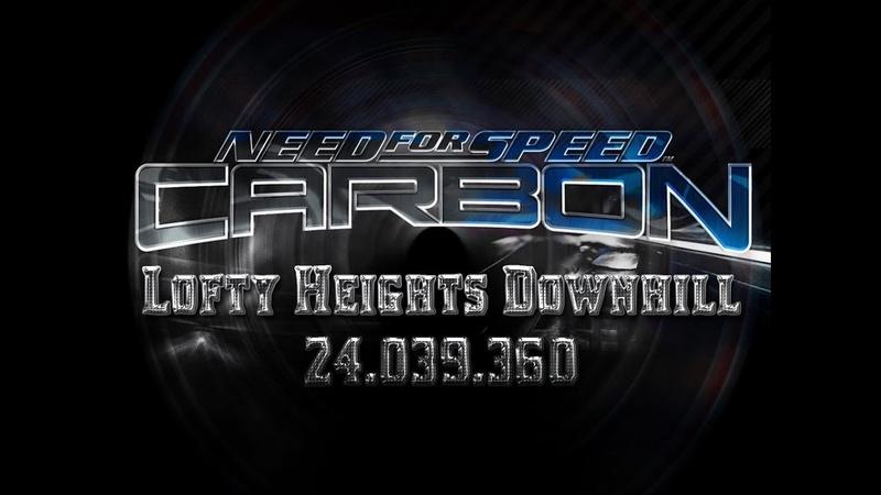 NFS Carbon Drift Lofty Heights Downhill 24 039 360