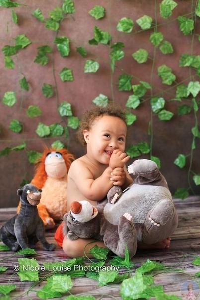 Николь Луиза устроила фотосессию для детей с синдромом Дауна, во время которой они могли побыть на месте героев диснеевских