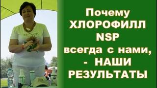 Почему Хлорофилл NSP  всегда с нами (наши результаты)