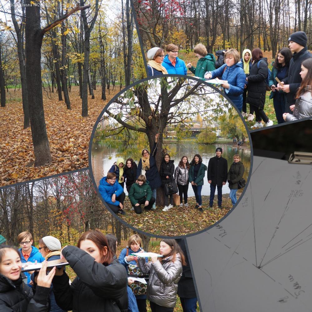 Учащиеся школы № 2053 совершили экскурсию в парк «Наташинские пруды»