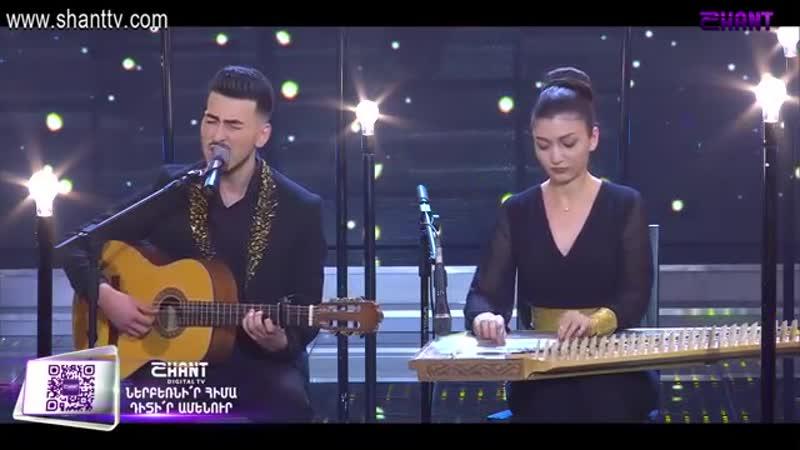 Ազգային երգիչ National Singer2019 Season1 Episode 14 Gala show 8 Edgar Avet