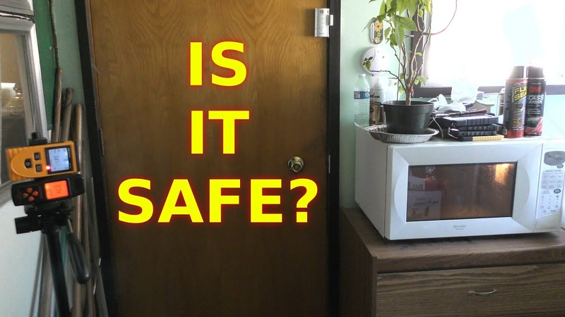 Is Standing Next To a Microwave Dangerous Science Experiment EMF uT Radiation