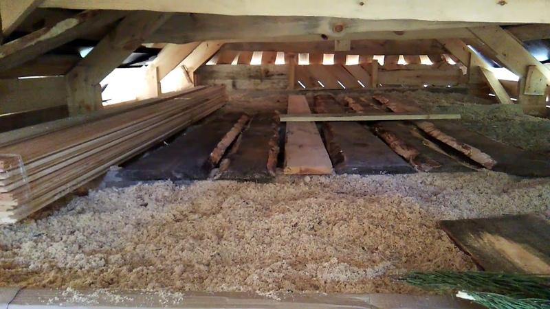 Как самому построить каркасный дом строим утепленный потолок