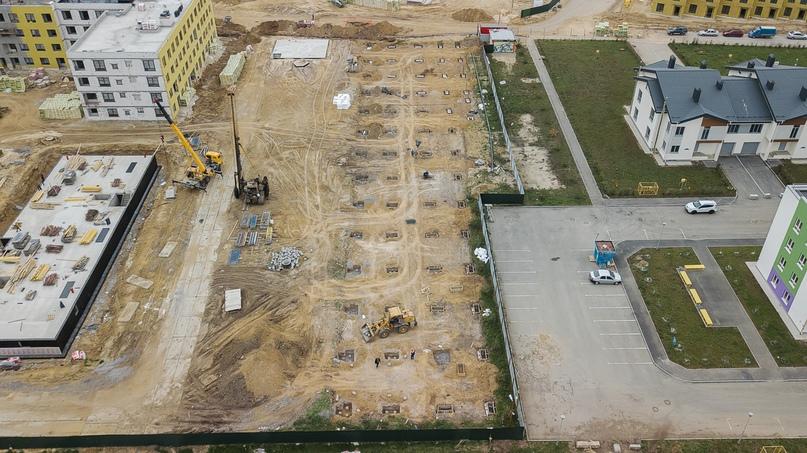 Отчет о ходе строительства квартал «Среда» май 2020, изображение №34