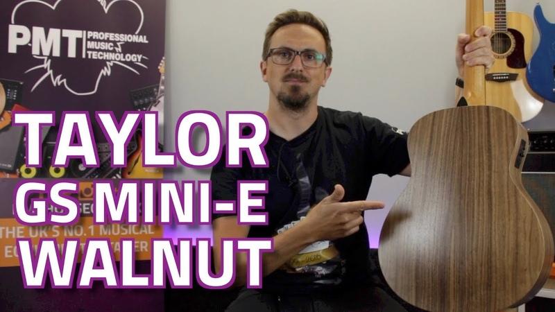 Taylor GS Mini E Walnut Back Sides Electro Acoustic Review Demo